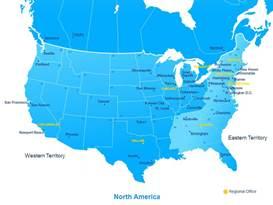 Chubb NA_Region_Map